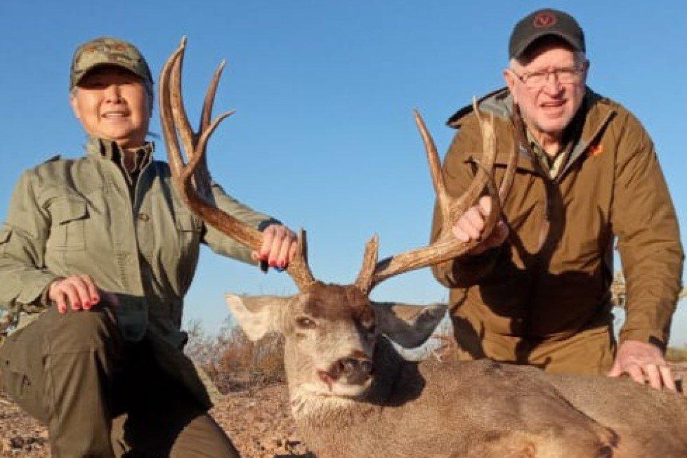 2020 mike mule deer desert hunt