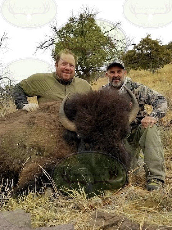 buffalo hunting mexico bison