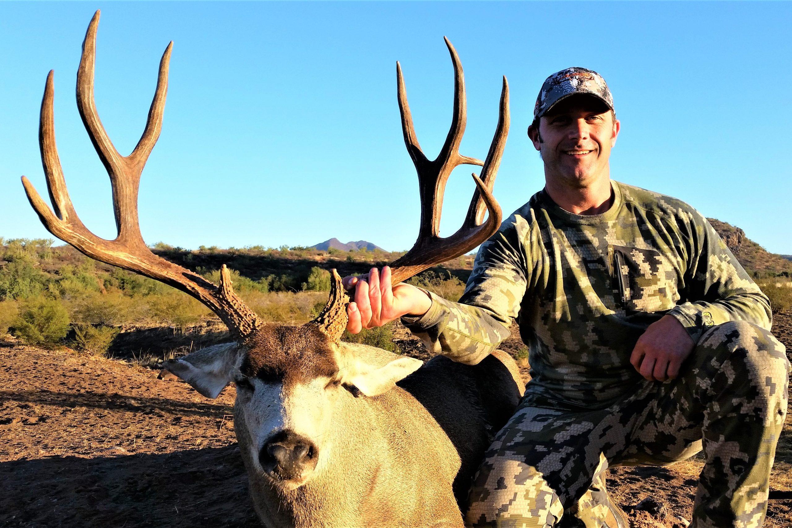 tony 2016 4x5 deer hunt mexico