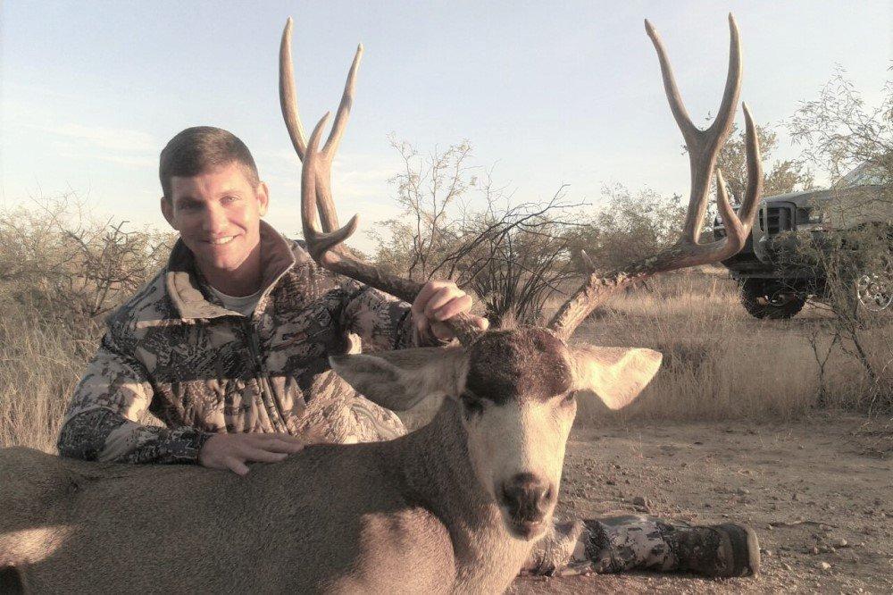 justin mina mule deer hunt